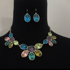 Jewelry - 50% OFF VIBRANT Multicolor Earring & Necklace